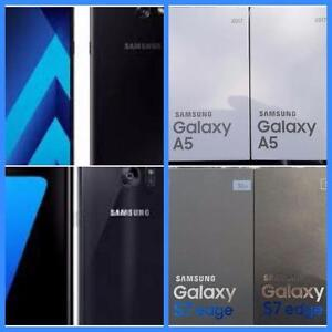 Brand New Samsung Galaxy A5 (2017)/S7 -UNLOCKED/WIND/Mobilicity/Roger/Bell/Telus/Fido/Chat-r/Koodo/Virgin/Public Mobile!