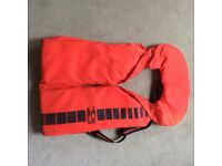Lifejacket Foamfloat Stole Red