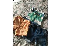 Shorts and shirt bundle
