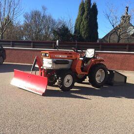 Kubota ZB1400 Tractor with snowplough and workbox