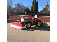 Kubota ZB1400 Tractor with snowplough and workbox