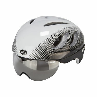 Bell Estrella Pro Transitions Casco Blanco Negro Blur Bicicleta de Montaña Nuevo
