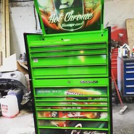Snap on tool box limited edition
