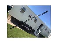 Brand new 3 Bed Caravan to rent presthaven Sands