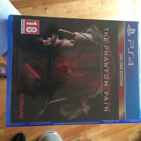 Metal Gear Solid 5 - PS4 - The Phantom Pain