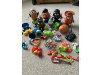 Mr Potato Head Darth Vader Woody Buzz Disney Dalek large bundle