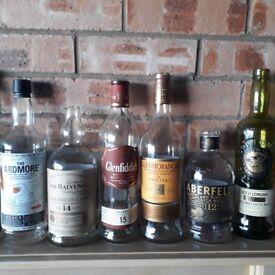 Malt Whiskey Bottles
