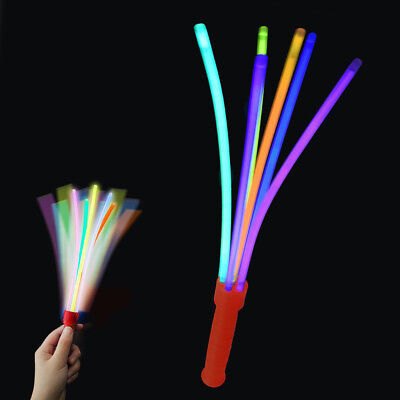 e Dark Hen Party Wand Festival Rainbow Light Up Concert Kids (Glo In The Dark Party)