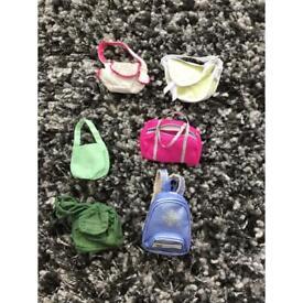Barbie dolls bags