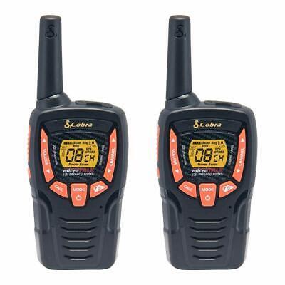 Cobra CXT385 23-Mile Two-Way Rechargeable Radios Walkie Talkies (Pair)