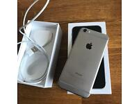 I phone 6 64gb grey original box and charger