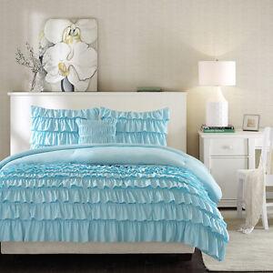 Beautiful Modern Teal Aqua Light Blue Soft Ruffled Ruched ... - photo#20