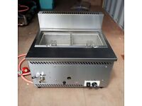 LPG Fryer - Parry AGFP Single Tank LPG Gas Fryer - Perfect for Catering/Street Food Stall