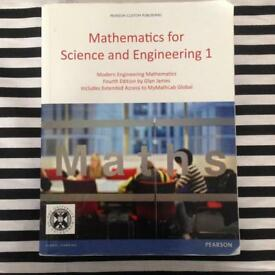 Mathematics for Science and Engineering 1 book