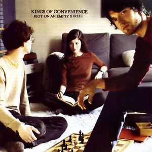Kings Of Convenience RIOT ON AN EMPTY STREET Limited NEW COLORED VINYL LP