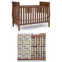 *UPDATED* CRIB WITH BEDDING SET AND OTHER BABY ESSENTIALS