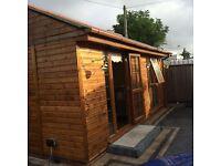 log cabin to rent in Aldermaston