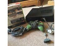 X Box 360 console plus games