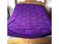 Bed / sofa throw