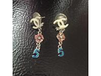 CC logo earring brand new