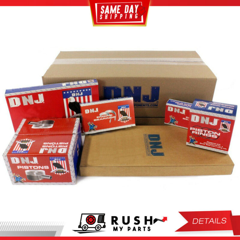 DNJ EK321M Engine Rebuild Kit for 09-09 Geo Isuzu 1.6L