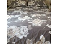Curtains 69x90 plus Duvet set to match, also new mink Duvets set and mink topcover