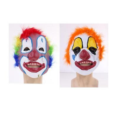 Colorful Friendly Party Clown Mask Happy Halloween Christmas Costumes Cosplay