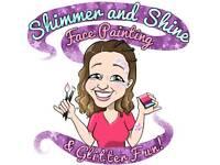 Face painter, Glitter Tattoos & Festival Glitter