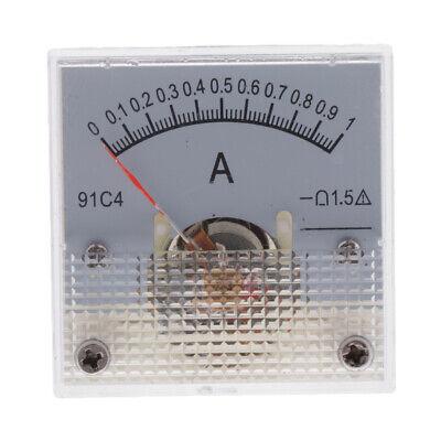 0-1a Dc Ampere Panel Meter Analogue Panel Amp Meter Analog Current Panel 91c4 Us