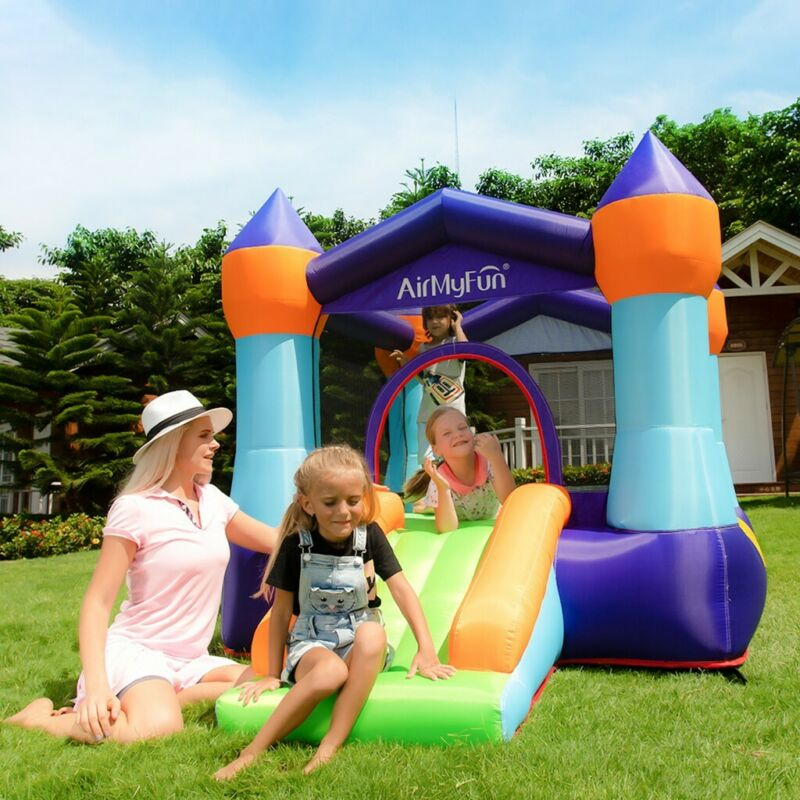 Inflatable Bouncer With Air Blower And Jumping Castle With S