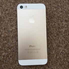 iPhone 5s gold 16 gig unlocked