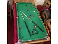 Pot Black 6ft Mini Snooker Table