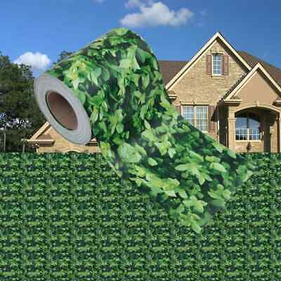 vidaXL Garden Privacy Screen PVC 70 m Green Fence Strip Roll Home Outdoor