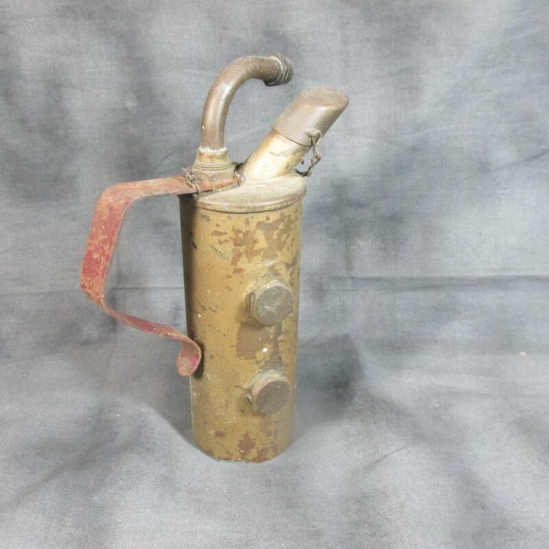 Antique Miniature Two Chamber Alcohol Blow Torch