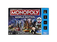 Monopoly World Edition - Board Game