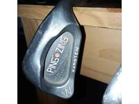 PING ZING RED DOT WEDGE AND SAND WEDGE