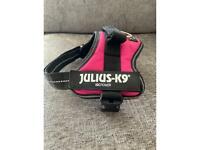 Julius K9 Dog Harness Size Mini Small Pink