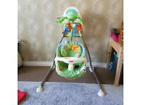 "Fisher price Baby swing ""Swing away mobile"""