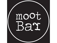 Bar & Floor Person Required - Monday to Friday Only