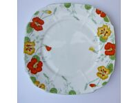 Antique china plate. Royal Paragon. Fine bone china. Vintage. Pristine condition.