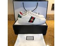 Gucci Ace Sneakers White Bee Snake Tiger Trainers All Sizes