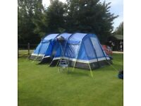 frontier 6 6 berth tent ,with may accessories all in first class condition