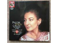 Maria Calas, Tosca, box set, 2 vinyl records