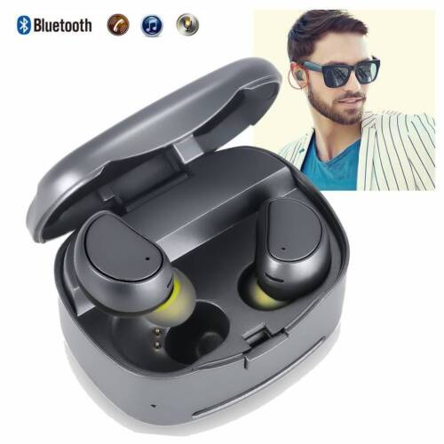 Wireless Twins Mini Earphone Headset Bluetooth Music Earbuds For Samsung Google Cell Phone Accessories