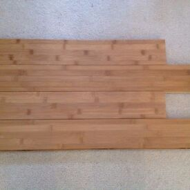 Westco Solid Wood Flooring Carbonised Bamboo 3 full packs plus 1 with 2 pieces used