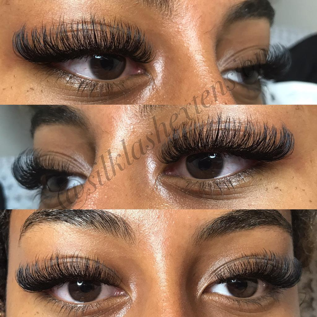 5 Off First Full Set Of Individual Eyelash Extensions Russian Volume