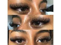 £5 off first full set of Individual eyelash extensions Russian Volume & Classic 1:1