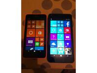 2 x Windows phones.