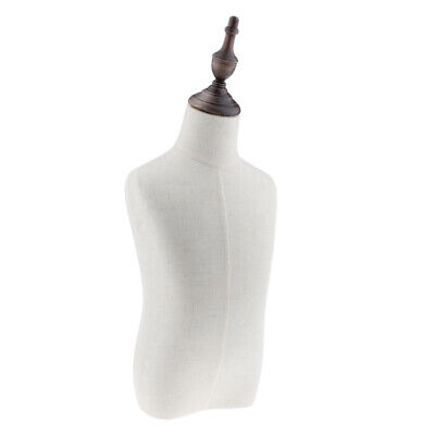 3-4 Years Old Childkids Body Dress Form Mannequin Display White Linen Cover
