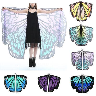 Frauen Schmetterlingsflügel Schal Flügel Kostüm Poncho Umhang - Schmetterling Kostüme Frauen
